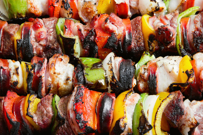 Chiches-kebabs photos stock