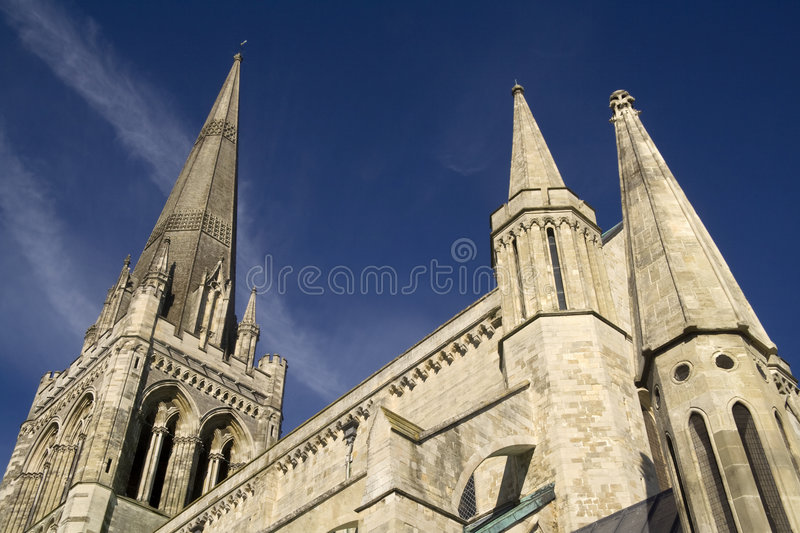 Chichester Cathedral royalty free stock photos