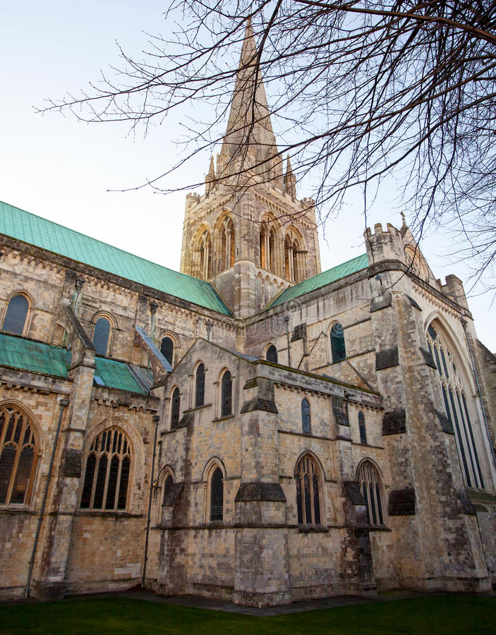 Chichester Cathedral royalty free stock image