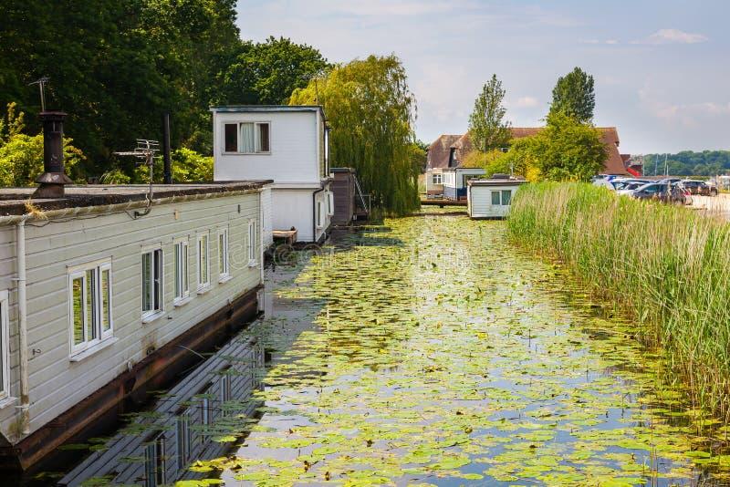 Chichester-Kanal West-Sussex England Großbritannien lizenzfreie stockfotos