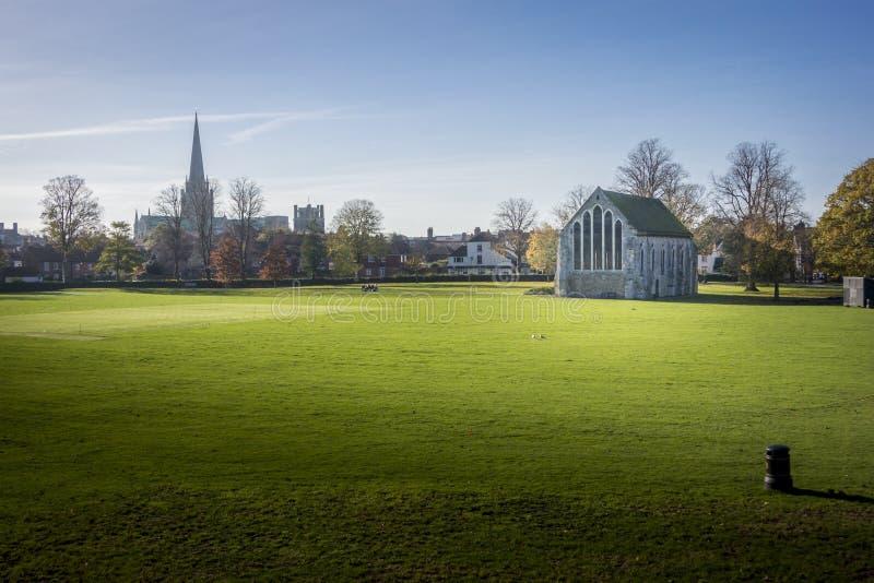 Chichester-Rathaus, Sussex, Großbritannien lizenzfreies stockfoto