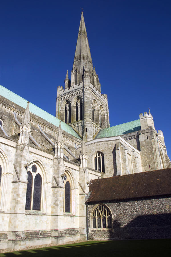 Download Chichester in the sun stock image. Image of buttress - 27507031