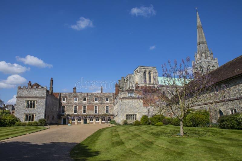 Chichester in Sussex stockfoto
