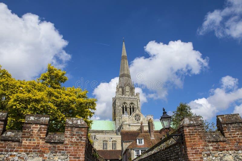 Chichester in Sussex stockbilder