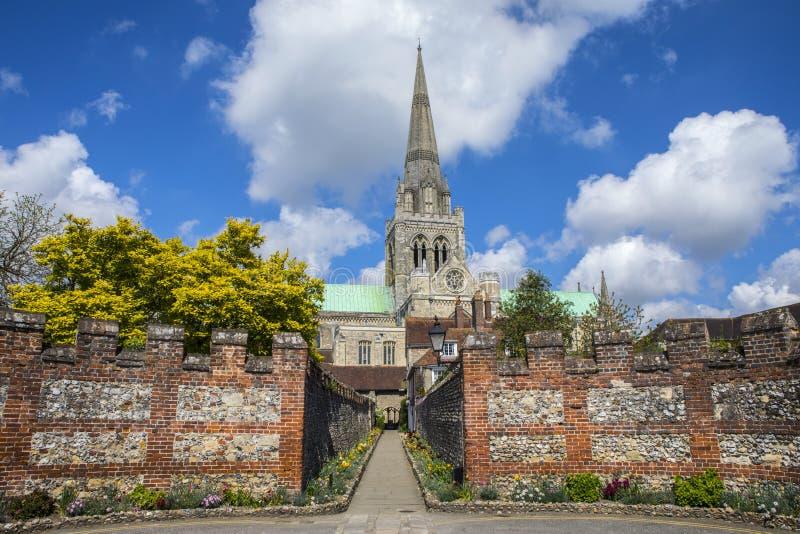 Chichester in Sussex stockbild