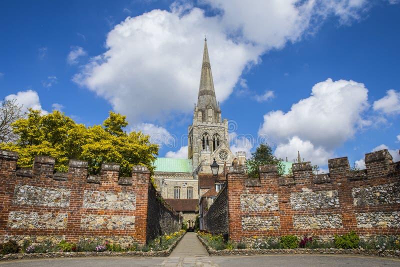 Chichester in Sussex lizenzfreies stockbild