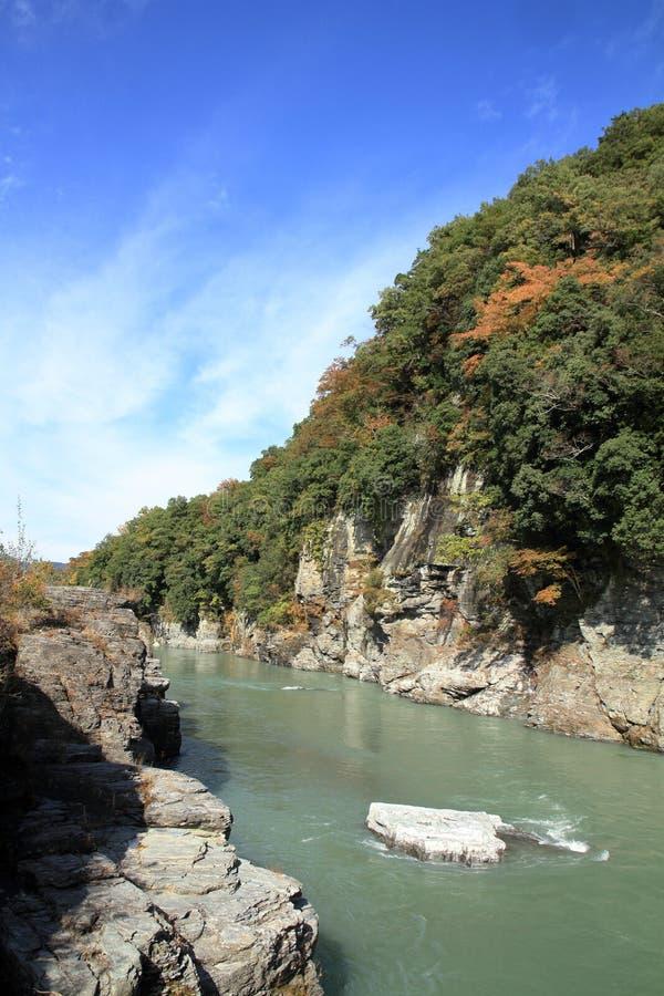 Free Chichibu Red Cliff In Nagatoro Royalty Free Stock Photography - 106255467