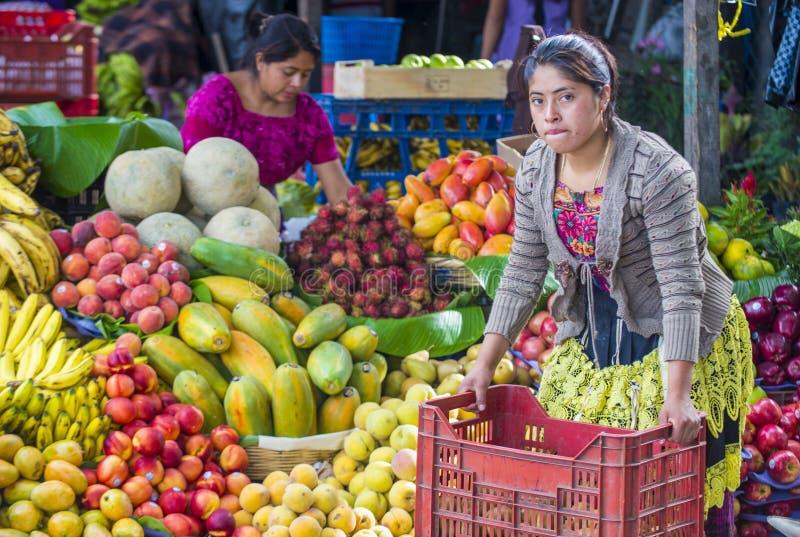 Chichicastenango-Markt lizenzfreie stockfotos