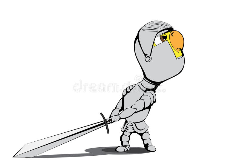 Download Chick knight stock vector. Illustration of italian, fifteenth - 25222541