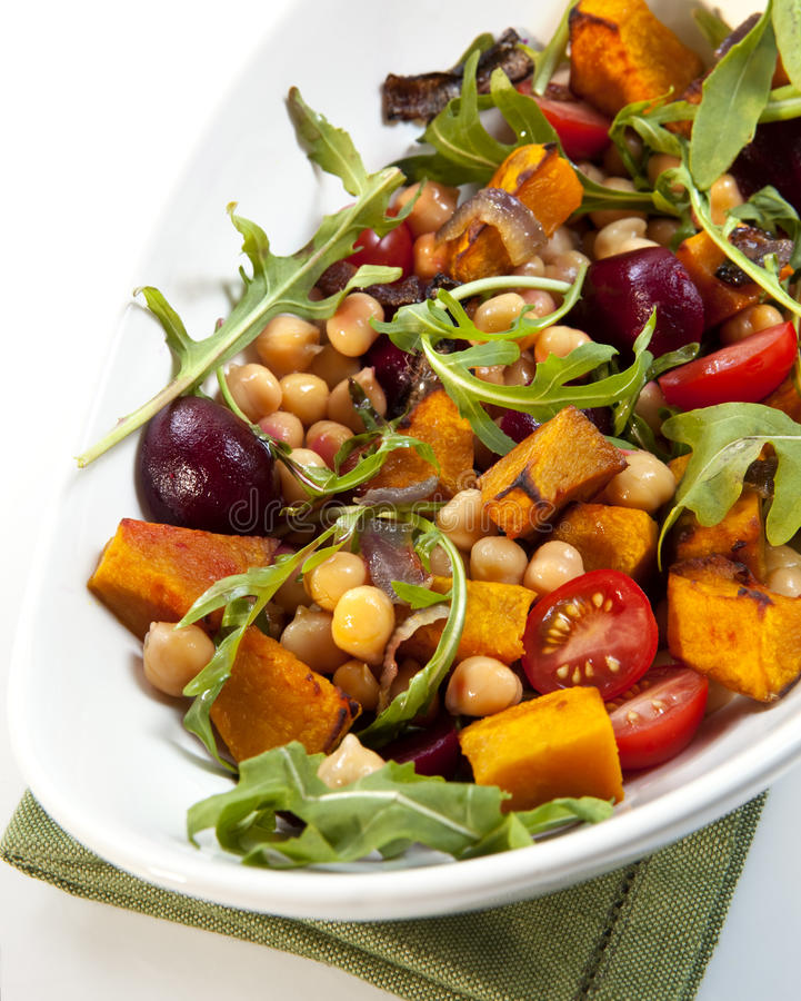 Download Chick Pea And Vegetable Salad Stock Photo - Image: 14855956