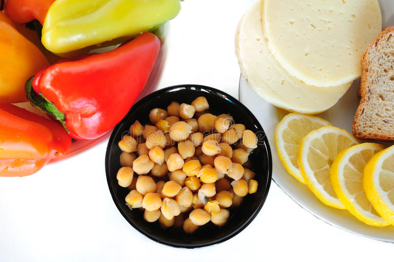 Download Chick peas stock photo. Image of chick, appetizing, legume - 20835456
