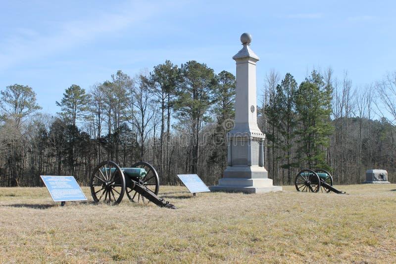 Chickamauga和加得奴加Natonal军事公园 免版税库存照片