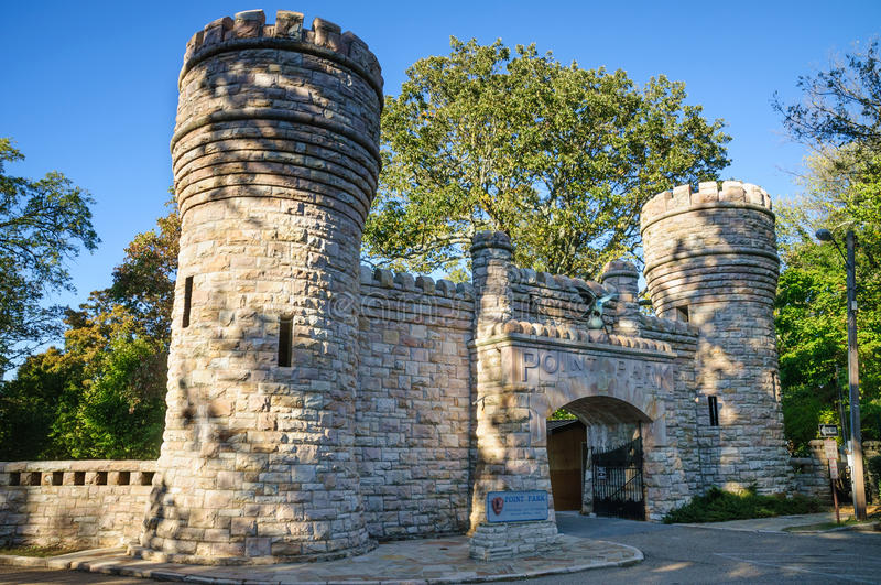 Chickamauga et parc militaire national de Chattanooga image stock