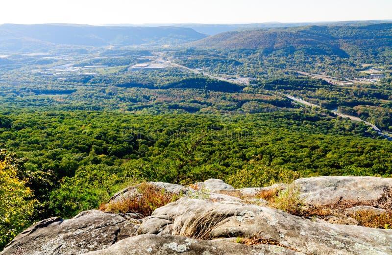 Chickamauga i Chattanooga wojskowego Krajowy park zdjęcia stock