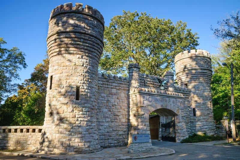Chickamauga y parque militar nacional de Chattanooga imagen de archivo