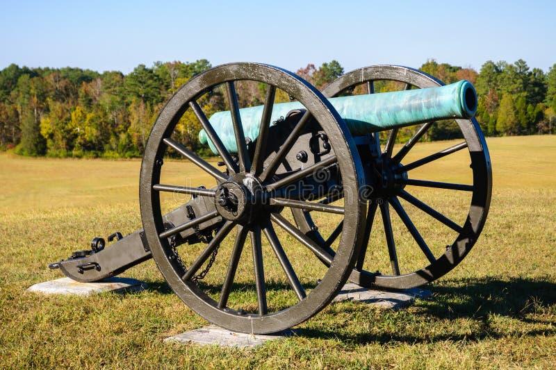 Chickamauga y parque militar nacional de Chattanooga foto de archivo libre de regalías