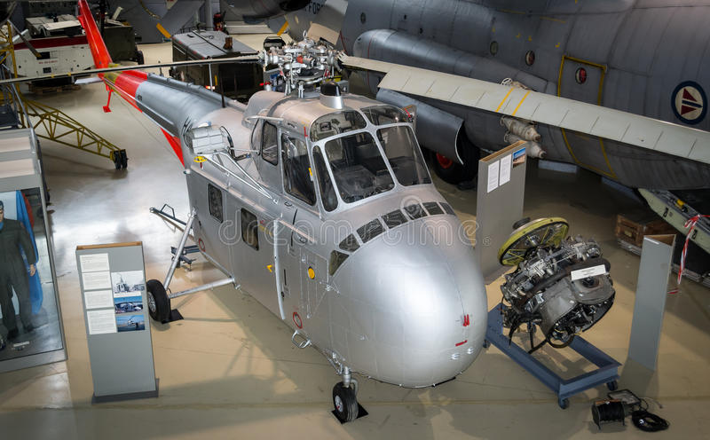 Chickasaw Sikorsky H-19 D-4 стоковые фотографии rf
