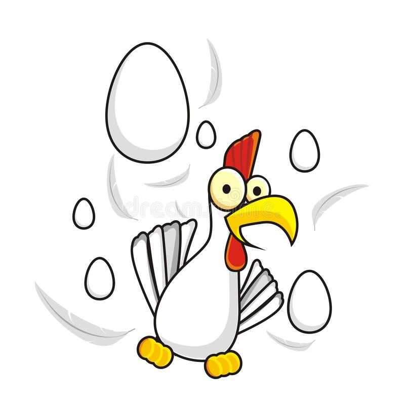 Download Chicken stock vector. Image of background, domestic, head - 12947794