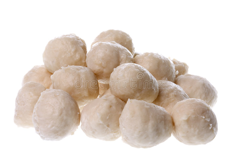 Chicken Balls Isolated stock image
