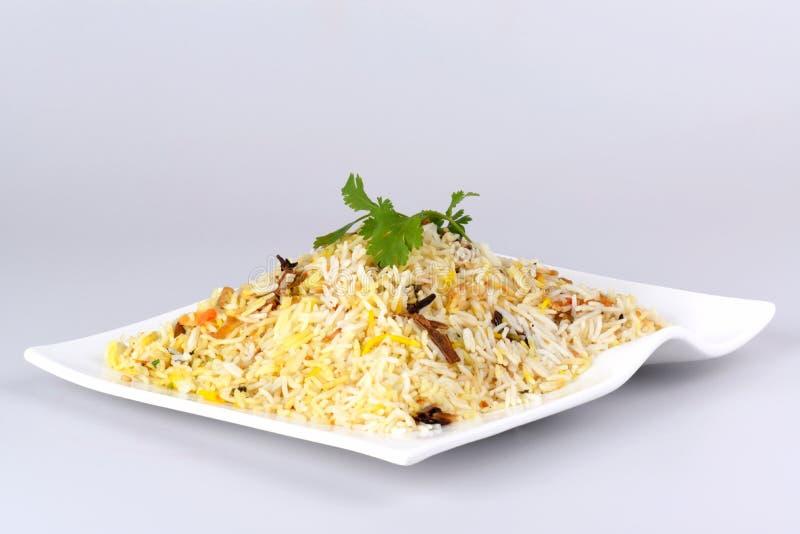 Chicken biriyani. Yummy delicious indian chicken biriyani stock photography