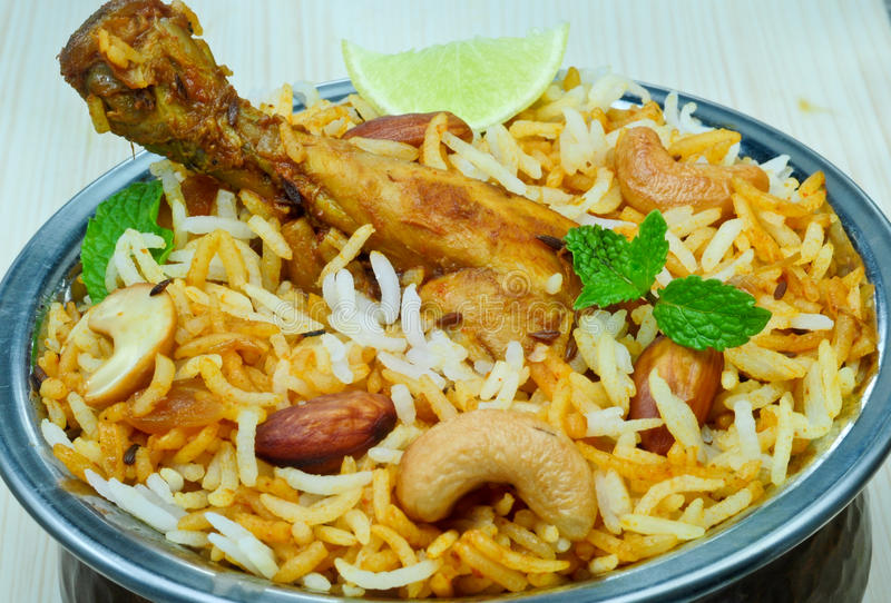 Download Chicken Biryani stock photo. Image of cuisine, pakistani - 23634260