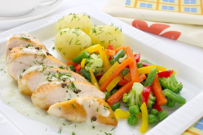 Chicken breast stock photo
