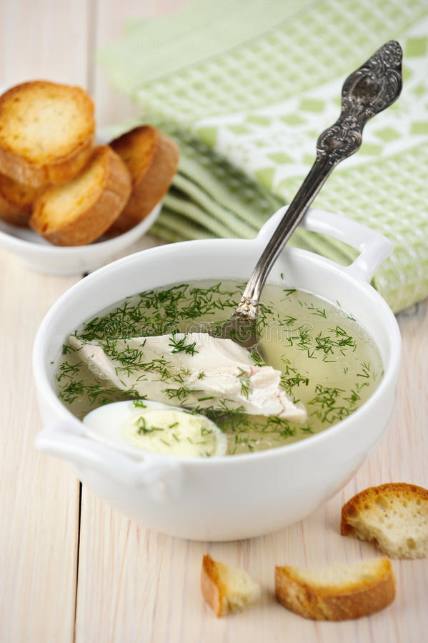 Download Chicken broth stock photo. Image of eating, food, soup - 22148948