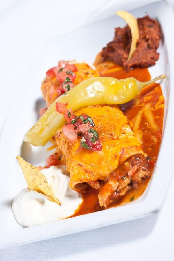Free Chicken Burrito Stock Photography - 21180372
