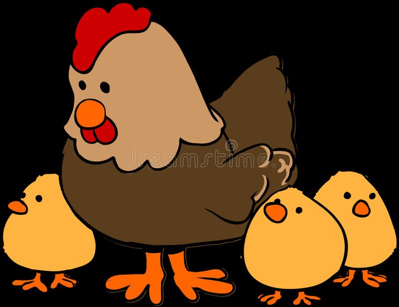 Chicken, Cartoon, Beak, Bird royalty free stock images
