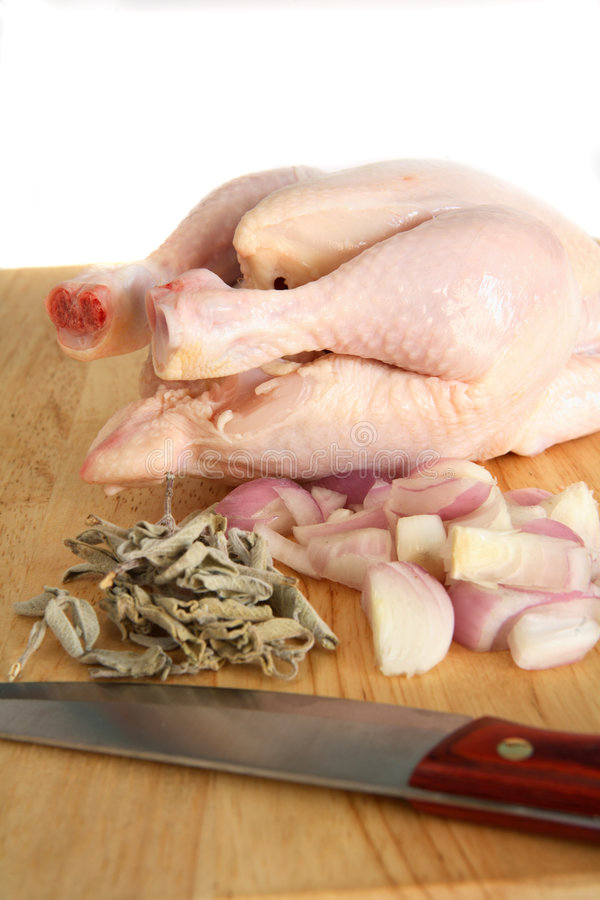 Download Chicken on chopping board stock photo. Image of chopped - 7926884