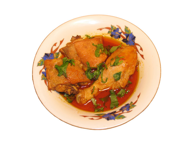 Chicken curry stock photos