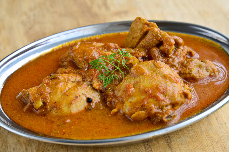 Chicken Curry. Indian Dish of Chicken curry royalty free stock photo