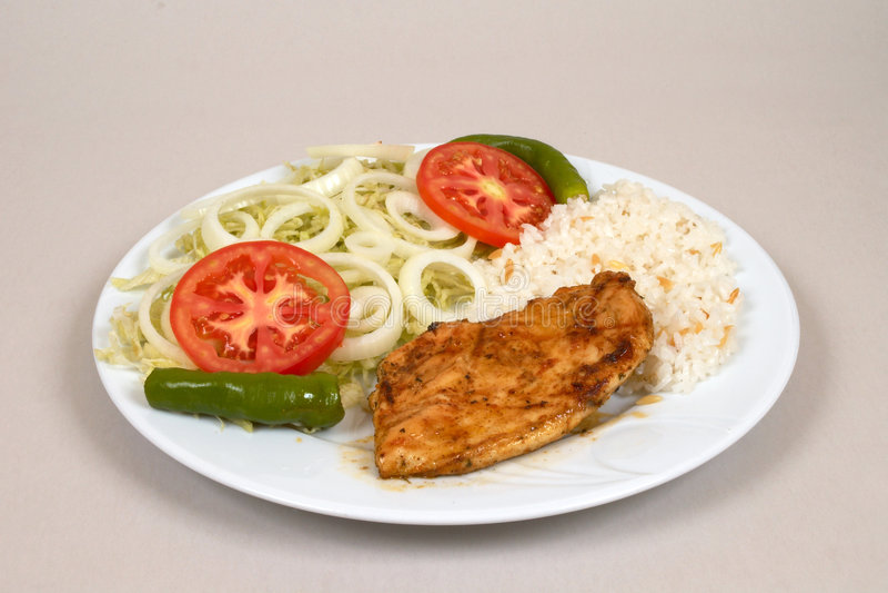Chicken fillet stock image