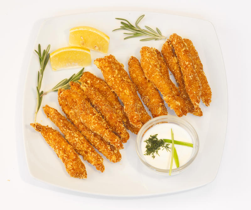 Download Chicken fingers stock photo. Image of chicken, crispy - 17283098
