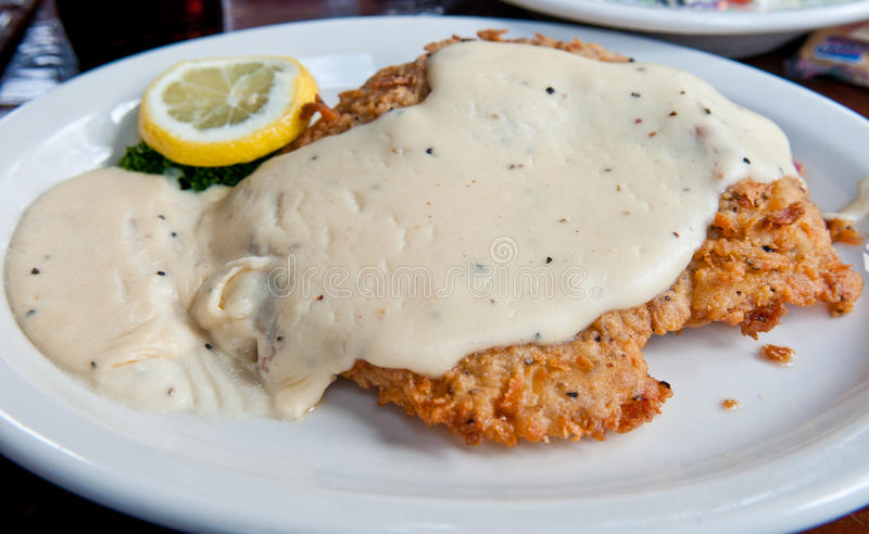 Chicken Fried Steak royalty free stock images