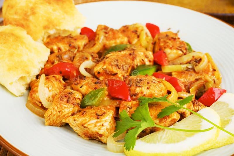 Download Chicken Jalfrezi stock image. Image of jhal, meat, stir - 28884171