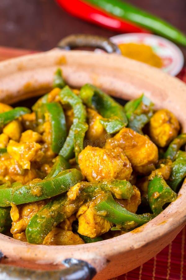 Chicken Jalfrezi Indian Or Pakistani Curry Stock Photo Image Of Pepper Fresh 43039540