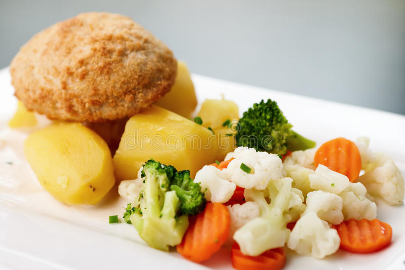 Download Chicken Kiev Royalty Free Stock Photography - Image: 21432397