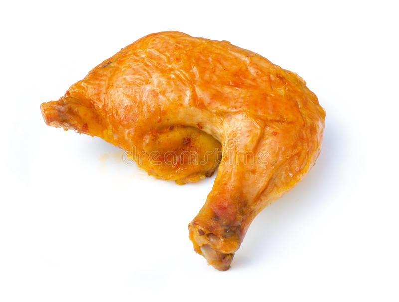 Chicken leg royalty free stock image