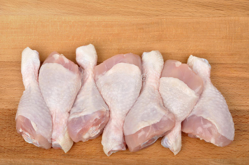 Download Chicken Leg stock image. Image of ingredient, board, isolated - 18991587