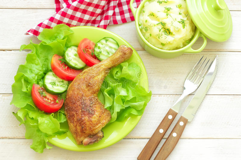 Download Chicken leg stock image. Image of food, calorie, chicken - 31181785