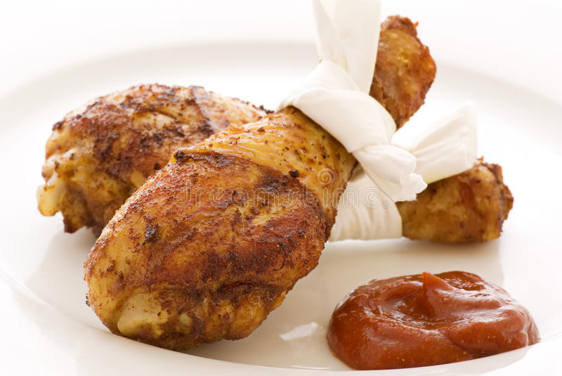Download Chicken Leggs Grilled Royalty Free Stock Image - Image: 17427986