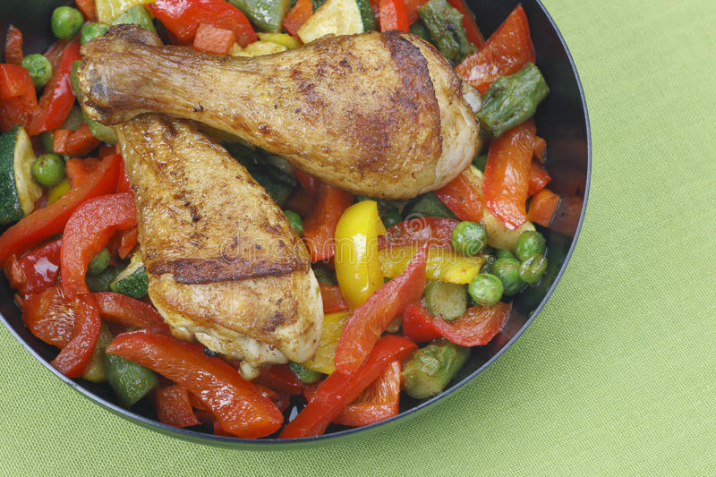 Download Chicken legs stock image. Image of green, delicious, dish - 15115229