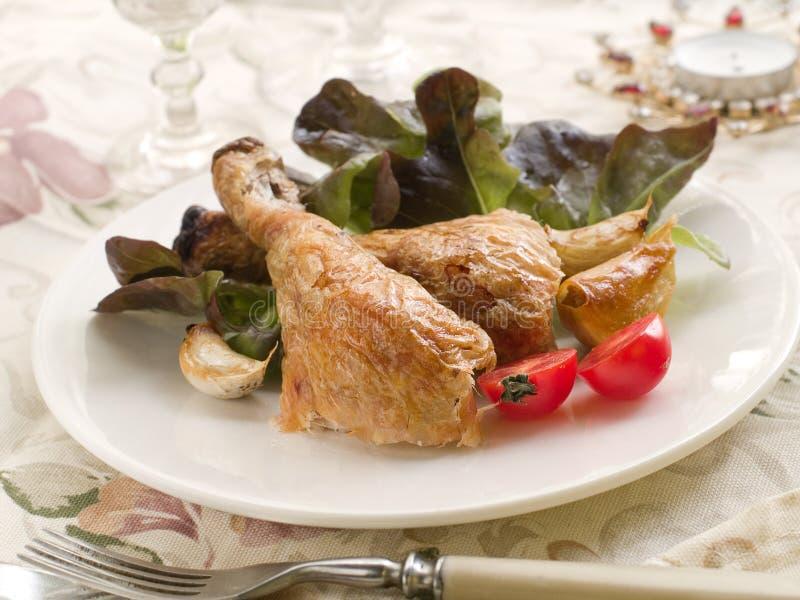 Download Chicken legs stock photo. Image of salad, chicken, thighs - 21272696