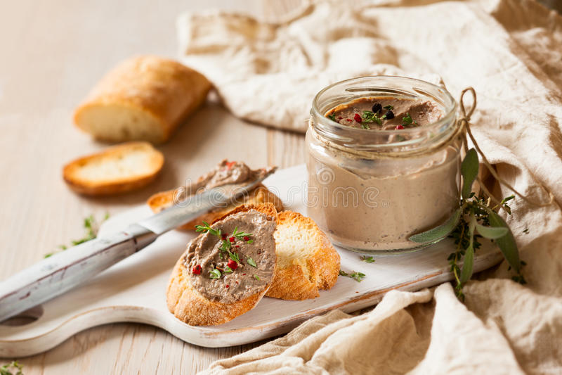 Download Chicken liver pate stock photo. Image of sandwich, meat - 26522682