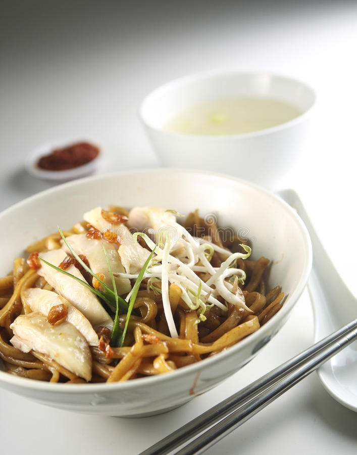 Download Chicken meat noddle stock photo. Image of noodles, diet - 20600806