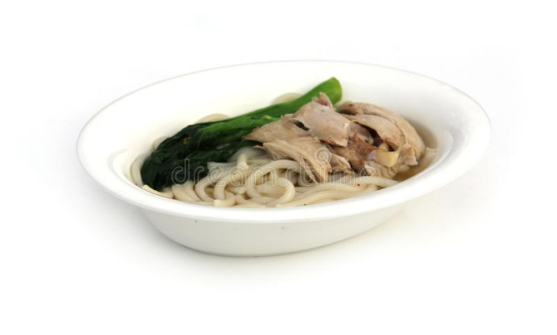 Chicken and Noodles royalty free stock photography