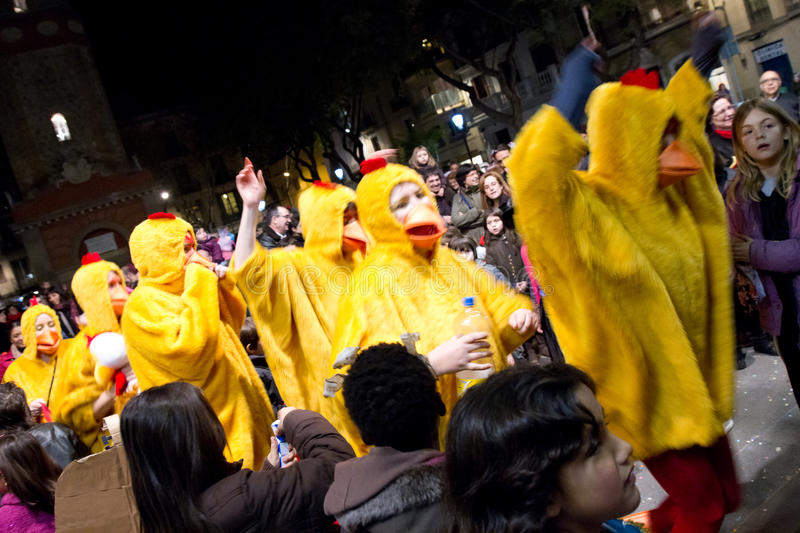 Download Chicken Parade editorial stock image. Image of culture - 23671769