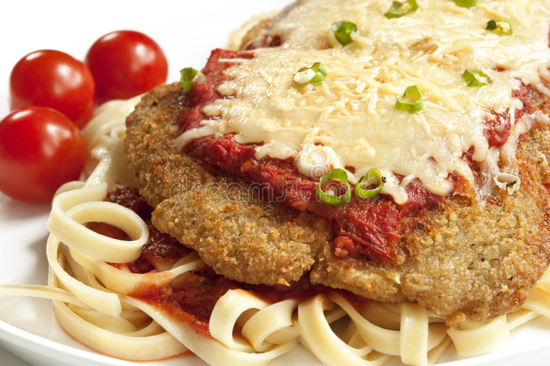 Chicken Parmesan stock photography