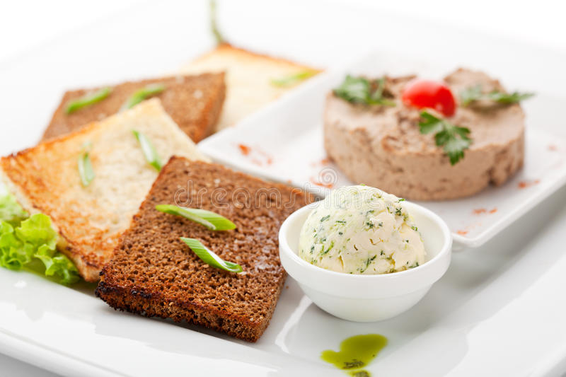 Chicken Pate royalty free stock image